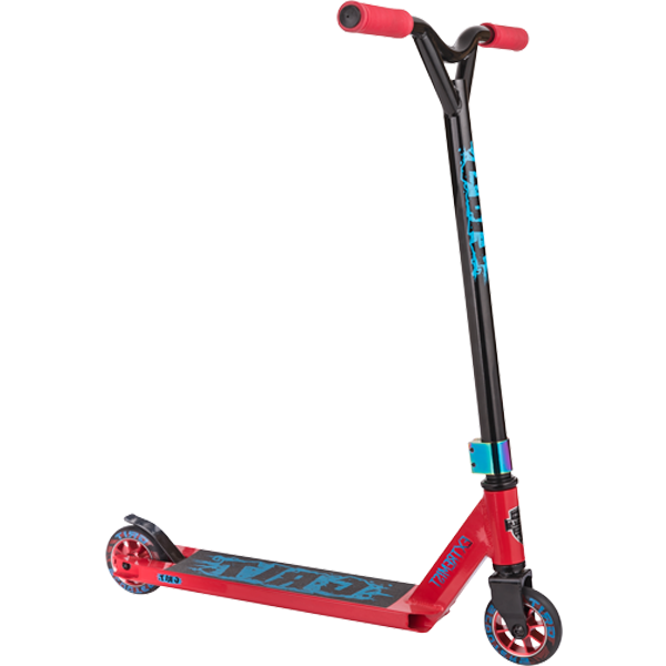 Трюковой Самокат Grit Scooters Extremist Red/Black