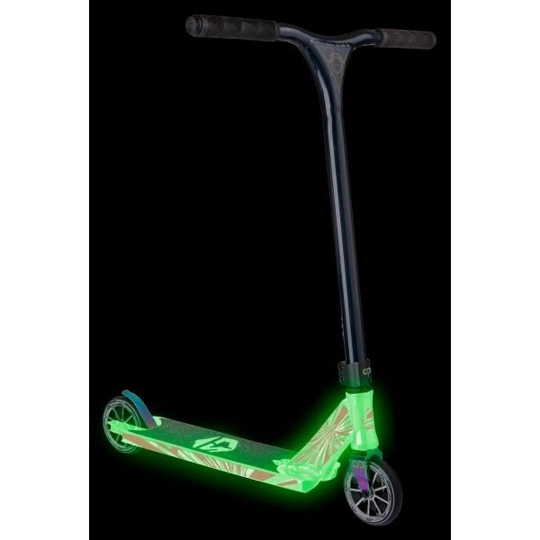 Трюковой Самокат Crisp Scooters Ultima 4.5 Glow White/Dark blue Metallic-3