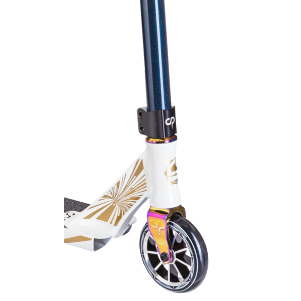 Трюковой Самокат Crisp Scooters Ultima 4.5 Glow White/Dark blue Metallic