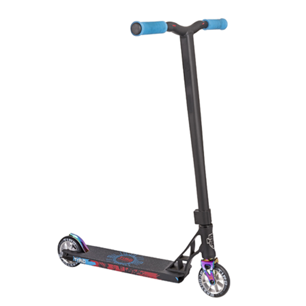 Трюковой Самокат Grit Scooters Elite Satin Black/Chrome