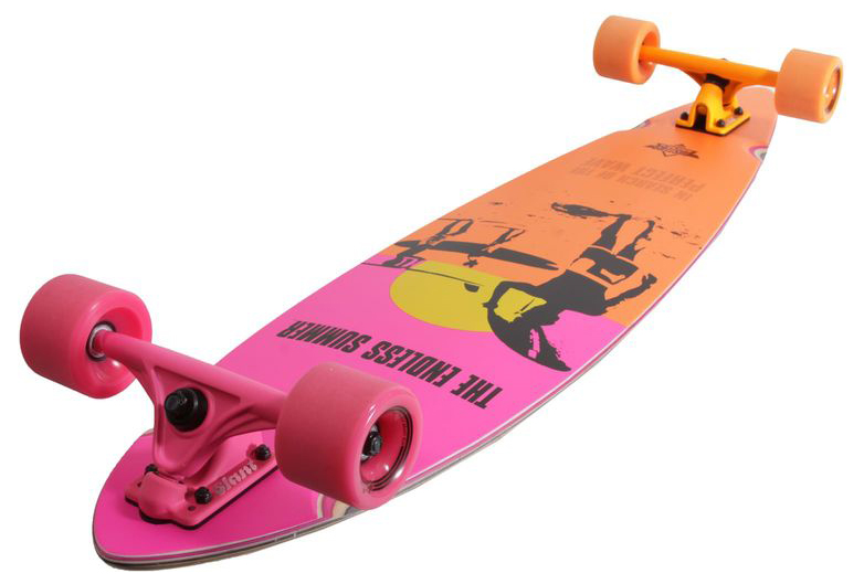 Лонгборд DUSTERS ENDLESS SUMMER Yellow/Orange/Pink 42-2