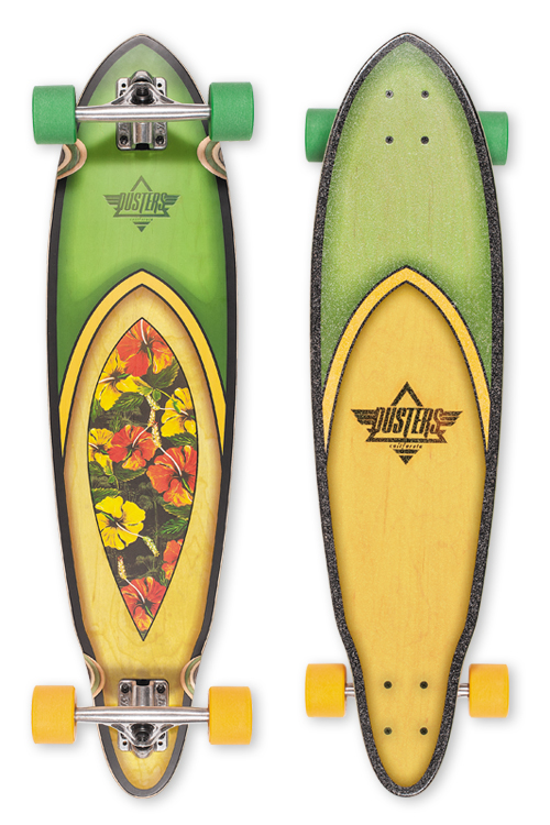 "Лонгборд DUSTERS FIN LONGBOARD Hawaiian 35"" SP16-4"