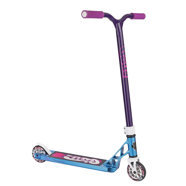 Трюковой Самокат Grit Scooters Fluxx Satin Blue/Purple-2