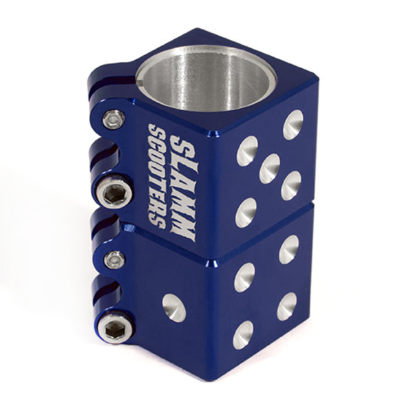 Зажим Slamm Dice Clamp Blue