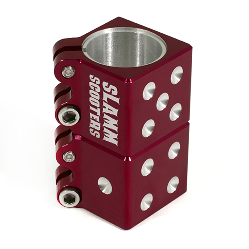Зажим Slamm Dice Clamp Red