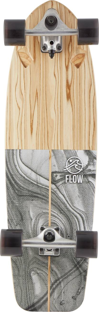 "Сёрф скейт Flow Swell Surfskate (33"" - Grey)"
