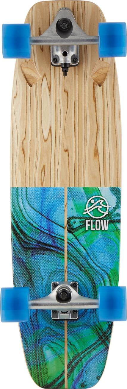 "Сёрф скейт Flow Wedge Surfskate (32"" - Blue)"