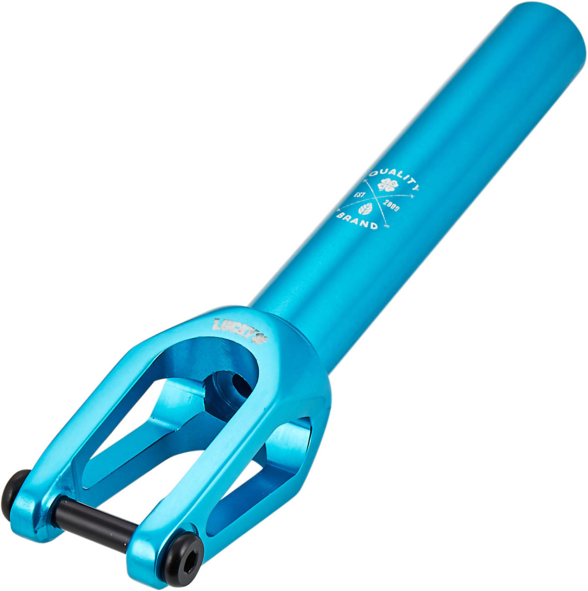 Вилка Lucky Huracan V2 SCS/HIC Pro Scooter Fork (Teal)