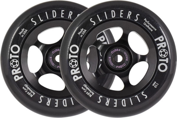 Колеса Proto Slider Pro Scooter Wheels 2-Pack (110mm - Black)