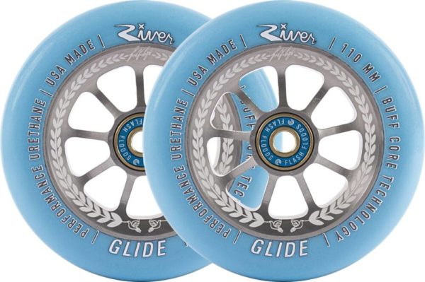 River Glide Juzzy Carter Wheels 2-pack (110mm Serenity)