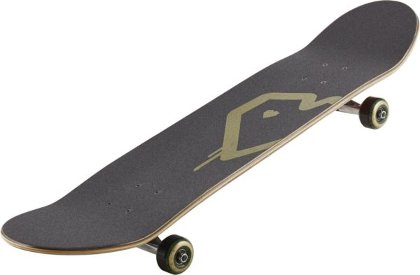 "Скейтборд Blueprint Spray Heart Complete Skateboard Burgandy/Gold 8,125""-2"