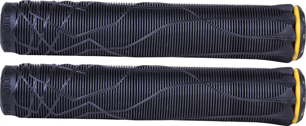 Ethic DTC Rubber Grips (Black)