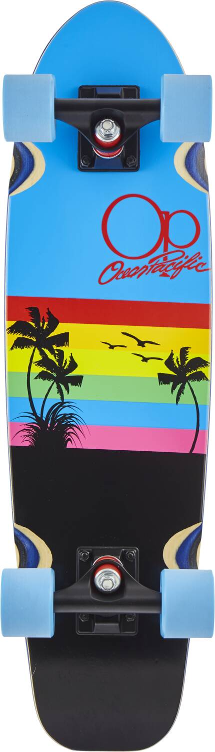 "Скейт круизер Ocean Pacific Cruiser Skateboard 27"" Sunset"