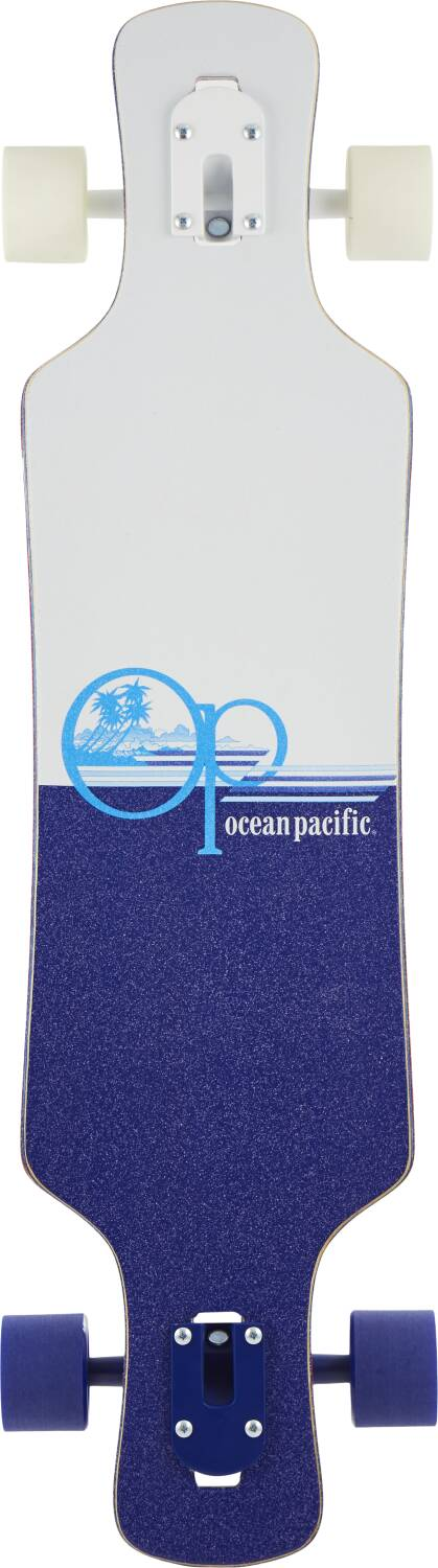 "Ocean Pacific Drop Through Complete Longboard Offshore 36""-2"