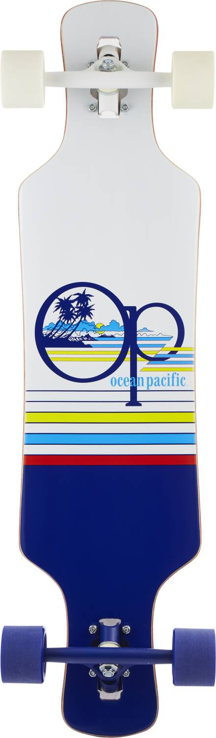 Ocean Pacific Drop Through Complete Longboard Offshore 36""