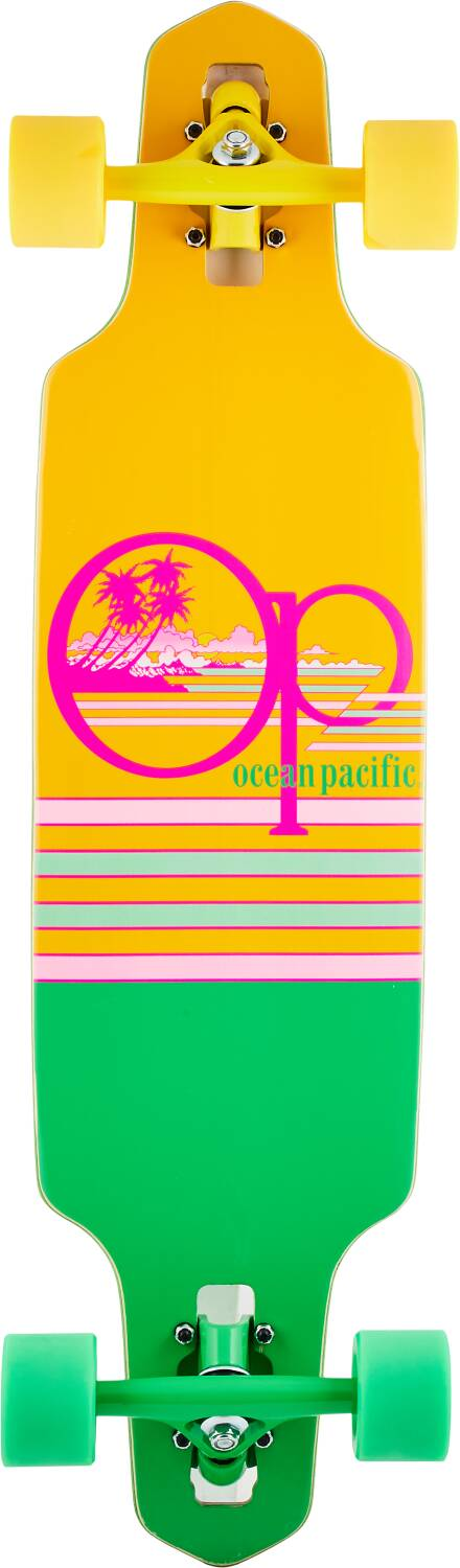 Лонгборд Ocean Pacific Wide Drop Complete Longboard Yellow 31,5""