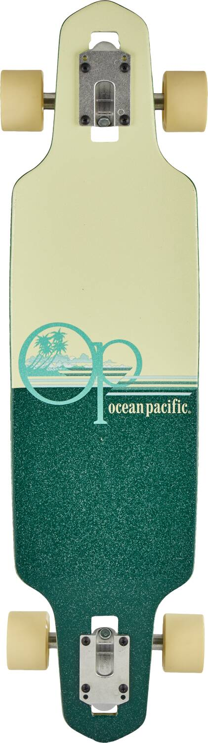 "Лонгборд Ocean Pacific Wide Drop Complete Longboard Teal 31,5"" -3"