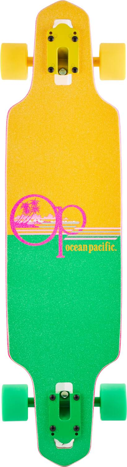 "Лонгборд Ocean Pacific Wide Drop Complete Longboard Yellow 31,5""-2"