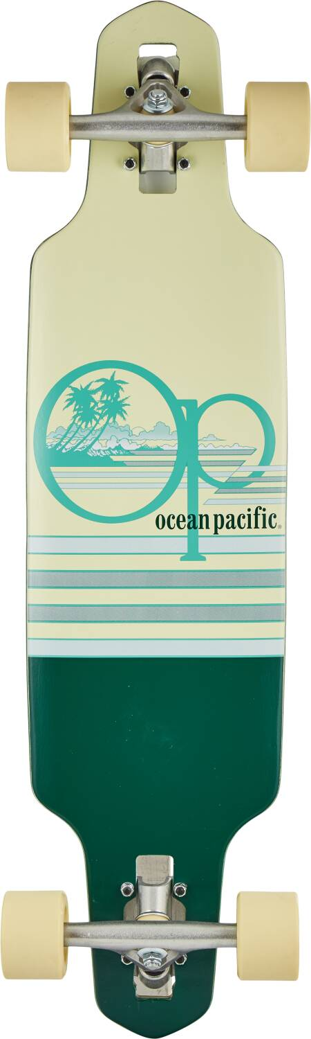 "Лонгборд Ocean Pacific Wide Drop Complete Longboard Teal 31,5"" -2"