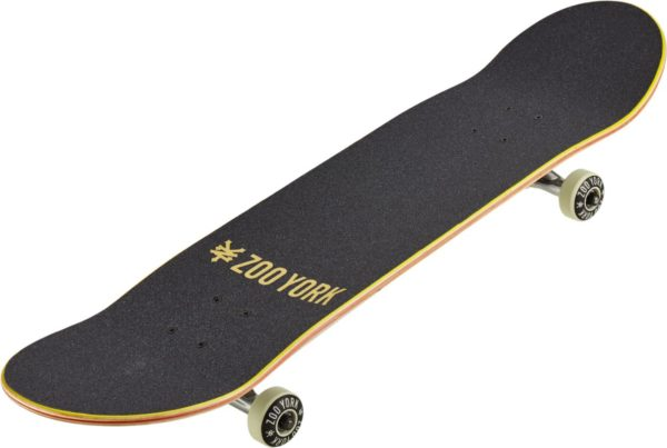 Скейтборд Zoo York Logo Complete Skateboard 8,25 Black-2