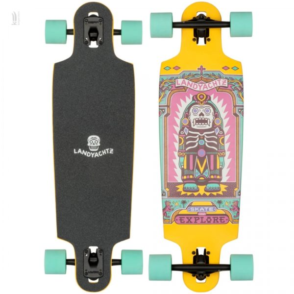 Лонгборд Landyachtz Drop Cat 33 Illuminacion
