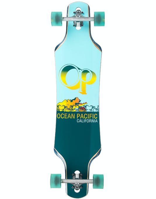 "Лонгборд Ocean Pacific Drop Through Complete Longboard (39"" Point)"