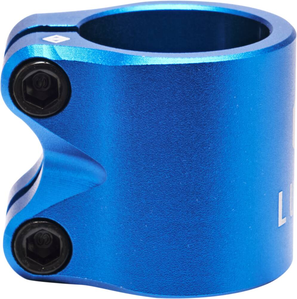 Drone Lunar Double Pro Scooter Clamp (Blue)-2