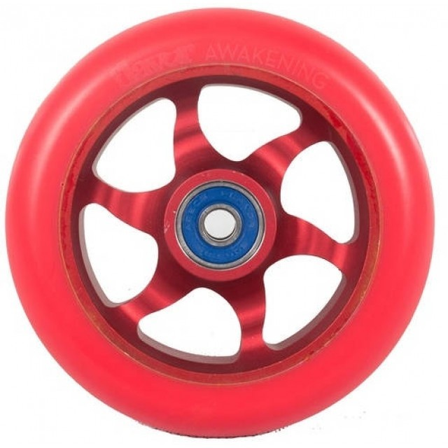 Колеса Flavor Awakening Colored PU Pro Scooter Wheels (110mm Red/Black)
