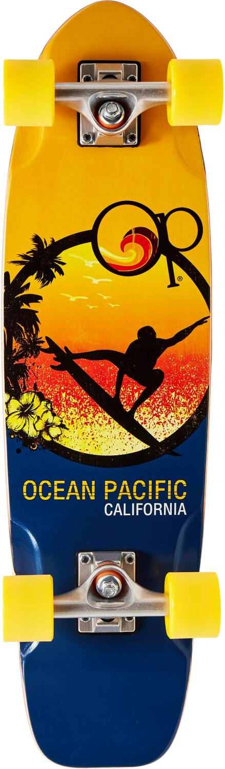 "Скейт круизер Ocean Pacific Cruiser Skateboard (28.5"", Orange)"