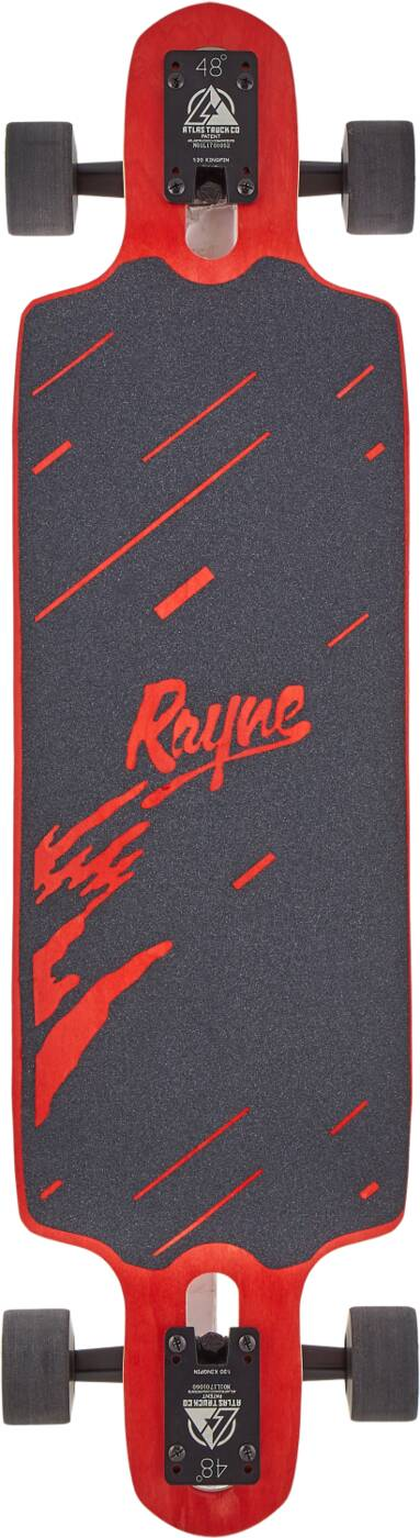 "Лонгборд Rayne Demonseed Complete Longboard 36"" Wave Camo Red-2"