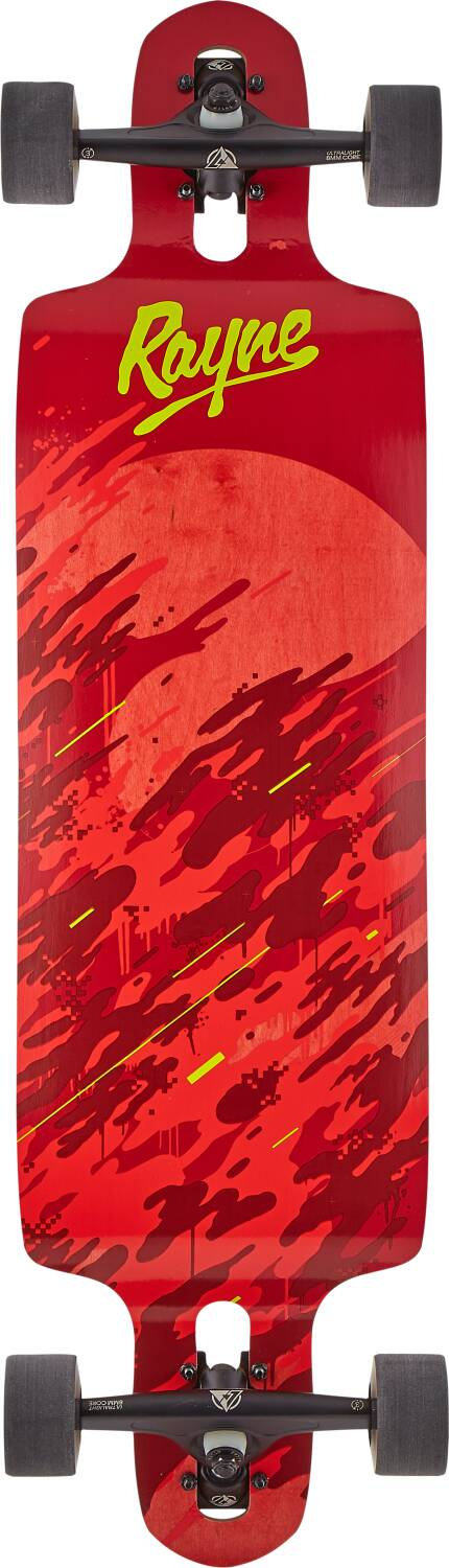 "Лонгборд Rayne Demonseed Complete Longboard 36"" Wave Camo Red"