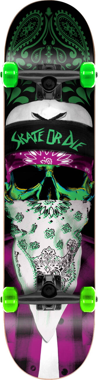 "Скейтборд Speed Demons Gang Complete Skateboard (8.25"", Mob)"