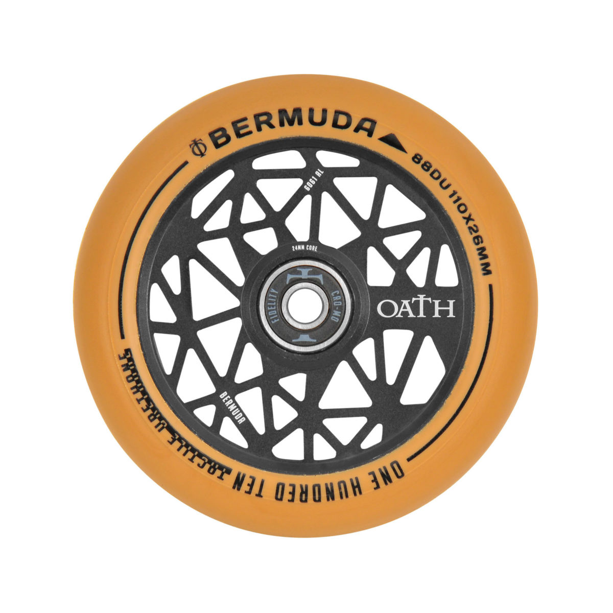 Колеса OATH WHEELS BERMUDA 110MM BLACK/GUM-3