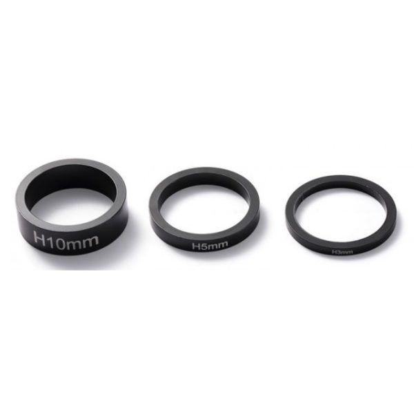 Проставки BLUNT BAR SPACERS PACK BLACK