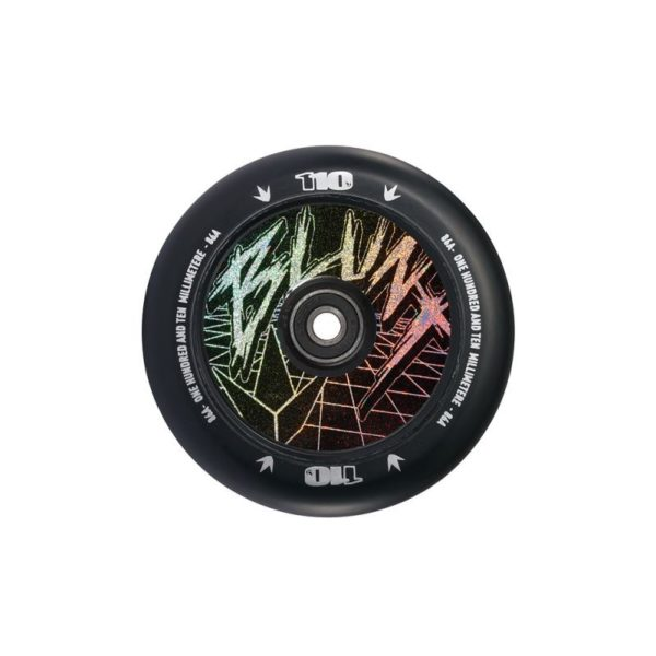 Колесо BLUNT WHEEL 110 MM HOLLOW CLASSIC HOLOGRAM