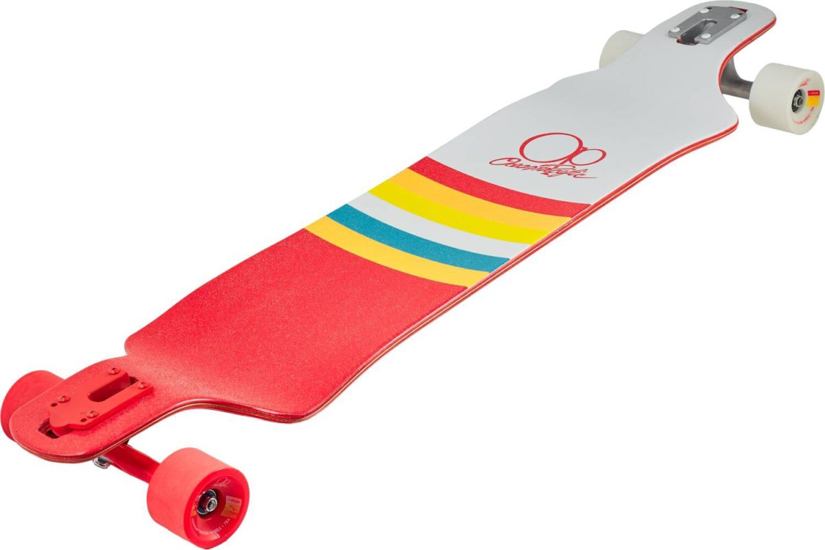 "Лонгборд Ocean Pacific Double Drop Complete Longboard (39"" Sunset)-3"