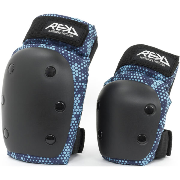 Комплект защиты REKD Heavy Duty Double Jr Black/Blue