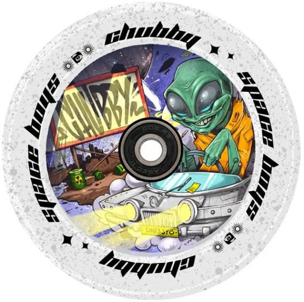 Колеса Chubby SpaceBoys Pro Scooter Wheel (110mm Alien)