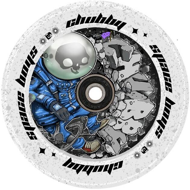 Колеса Chubby SpaceBoys Pro Scooter Wheel (110mm Astronaught)