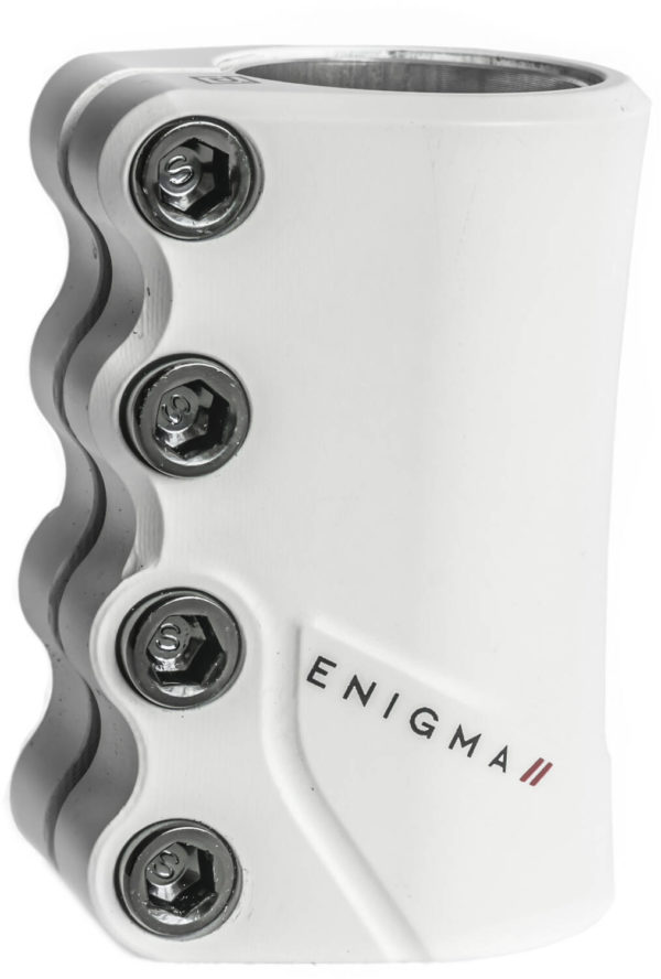Drone Enigma II SCS Pro Scooter Clamp (White)