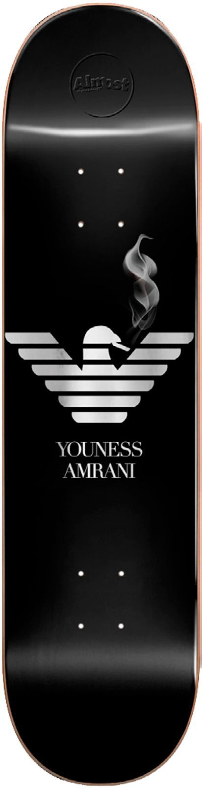 Скейтборд дека ALMOST YOUNASS RUNWAY R7 Youness Amrani 8.25